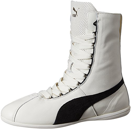 Puma Eskiva Hi, Women's Trainers Blanc (Whisper White/Black)