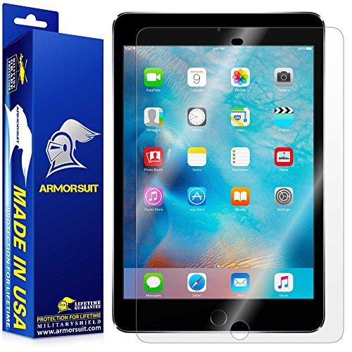 ArmorSuit Apple iPad Mini 4 Screen Protector MilitaryShield Max Coverage Screen Protector Compatible with iPad Mini 4 - HD Clear Anti-Bubble
