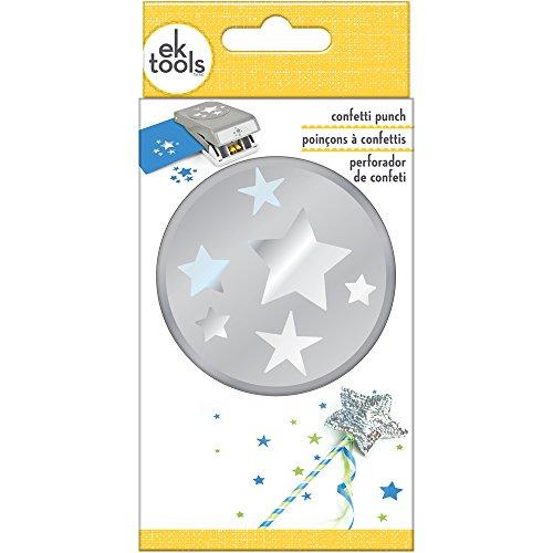 EK tools 54-30276 Confetti Stars Punch (Scrapbooking Confetti)
