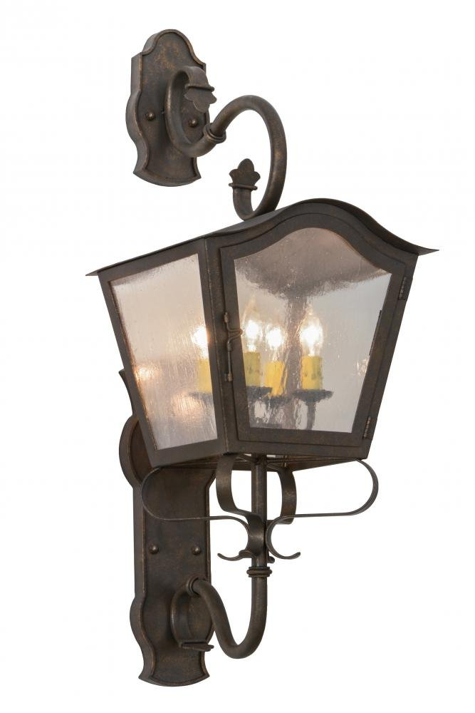 Meyda Tiffany 153482 Christian Lantern Wall Sconce, 12'' Width by Meyda Tiffany
