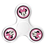 Hand Toy Fidget Spinner Minnie Mouse Finger Spinner Pocket Toy For Adults And Kids Easy To Carry Killing Time Anti-Anxiety
