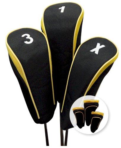 激安特価 Hi-Tech Contour Head Covers Set (Yellow, Set Contour of 3, 1-3-X) B005Y121FW B005Y121FW, お遍路用品 てくてくおへんろさん:6d7e8612 --- a0267596.xsph.ru