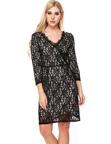 ANGVNS Womens Sleeves Cocktail Casual