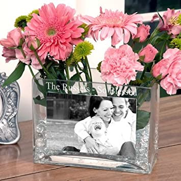 Amazon Limited Time Only Personalized Glass Photo Vase Baby