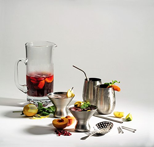 Endurance 8 Oz. Stemless Martini Glass - One Glass by RSVP International (Image #2)