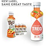 Organic Treo - Fruit and Birch Water Drink, Peach Mango, 16 Fl oz. (Pack of 12)