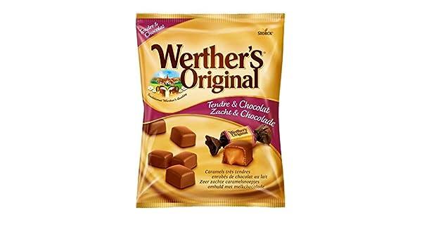 WertherS Original - Sobre De Caramel Tender Chocolate 180G - Caramel Tendre Chocolat Sachet 180G - Precio Por Unidad - Entrega Rápida: Amazon.es: ...