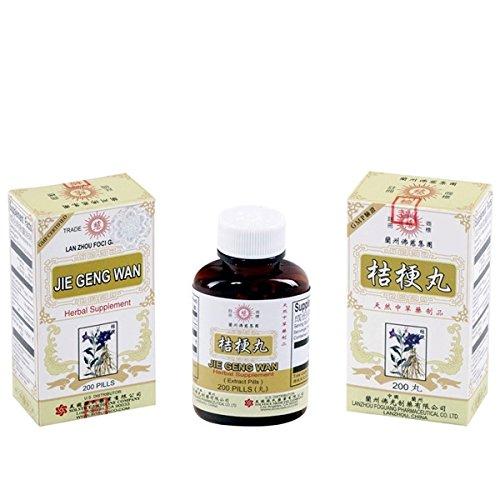 Platycodon Teapills (Jie Geng Wan) 200 Ct, une Pk