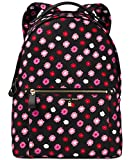 MICHAEL Michael Kors Kelsey Large Nylon Backpack (Black/Ultra Pink)
