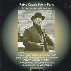 Casal, Bach): Eugene Ormandy, Pablo Casals Prades Festival Orchestra