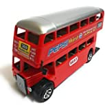 Double Decker Bus, Red Color, Size - Length 16 cm, Height 5 cm, Breadth 8 cm
