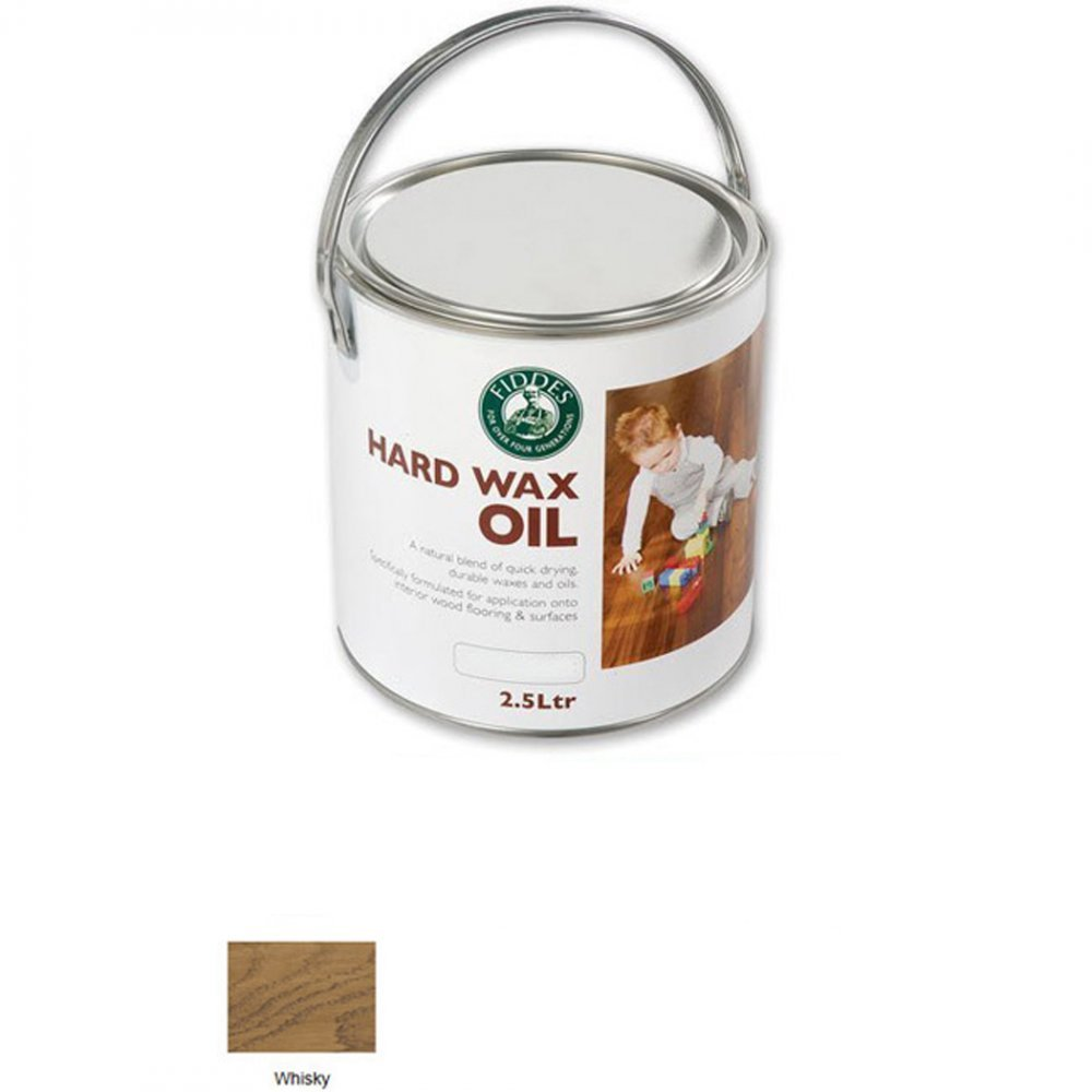 Fiddes Hard Wax Oil Colour Tint - Whisky 1ltr
