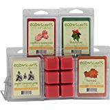 """EcoScents 100% All Natural Soy Wax Melts - """"Holiday Pack"""""""