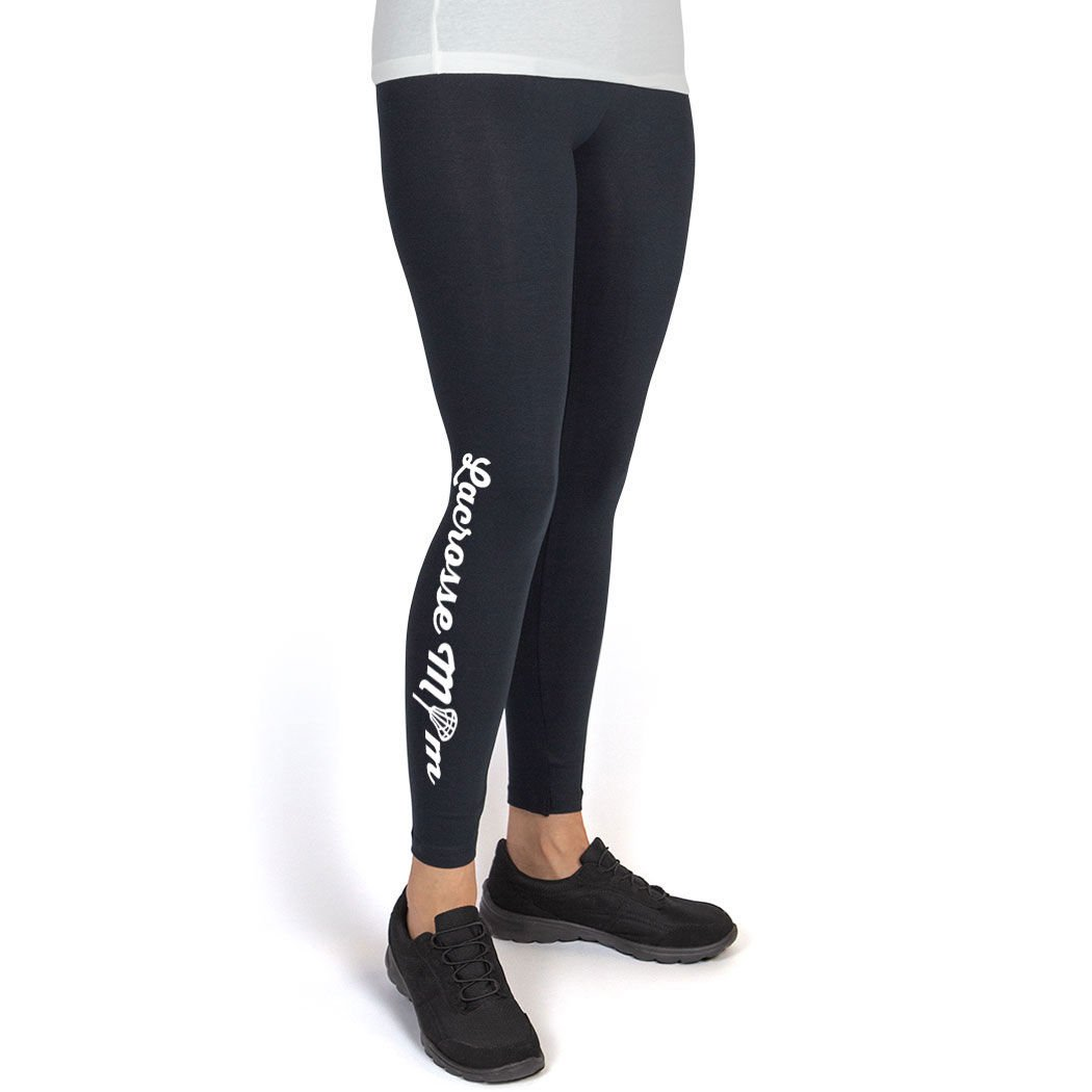 Multiple Colors Youth To Adult Sizes Girls Lacrosse Leggings by ChalkTalk SPORTS Lacrosse Mom Leggings