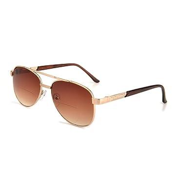 Amazon.com: Gudzws - Gafas de sol bifocales con aumento ...
