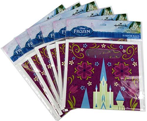 Ziggos Party Frozen Favor Bags Super Value Pack (48ct) ()