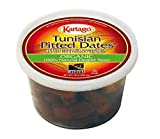 Tunisian Pitted Dates, USDA Organic, Natural Deglet Noor, 10 oz, Pack of 4