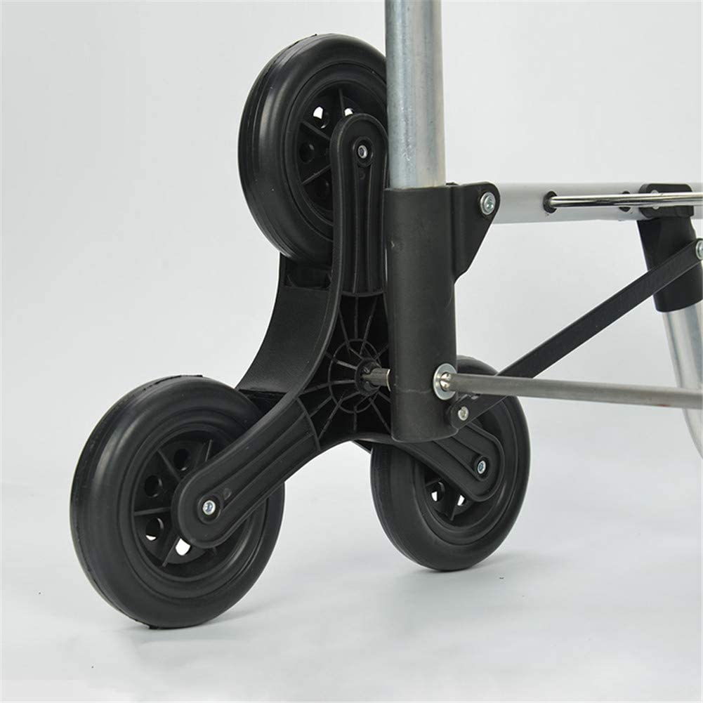 2 ST/ÜCK Treppensteigen Reifen Leiser Reifen Zubeh/ör von Einkaufswagenrollen Ersatzrad f/ür Einkaufswagen