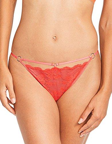 Elle Macpherson Body Womens Strip Bikini Size XLarge in Red