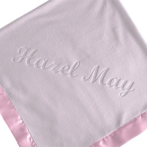 Jual Large Personalized Baby Blanket (Pink) - 36x36 Inch 2999dd39c16d