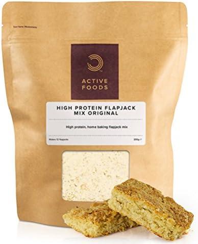 BULK POWDERS Protein Haferriegel Mix, Flapjack, 200 g
