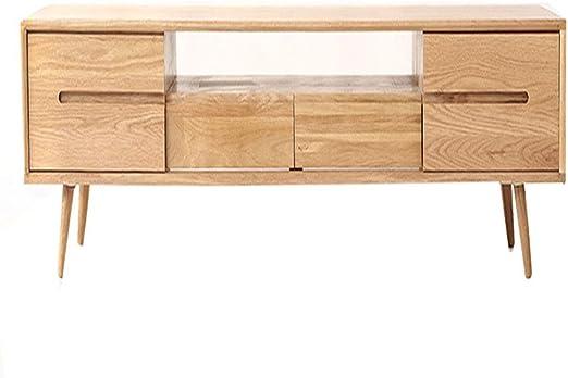 SXFYZCY Mueble de TV de Madera Maciza diseño Minimalista Sala de ...