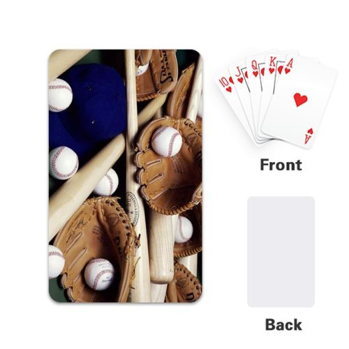 Cool Sport baseball outfit New Fashion Custom Playing Cards / Poker Design Single Side (2.1