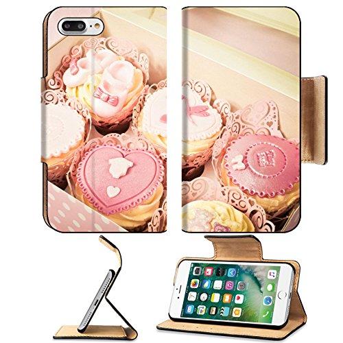 Luxlady Premium Apple iPhone 7 Plus Flip Pu Leather Wallet Case iPhone 7 Plus 25145954 Box of fancy cupcakes