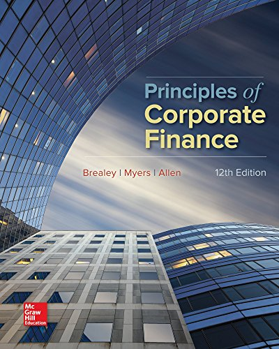 Principles of Corporate Finance (Mcgraw-Hill/Irwin Series in Finance, Insurance, and Real Estate) [Richard Brealey - Stewart Myers - Franklin Allen] (Tapa Dura)