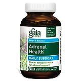 Gaia Herbs Adrenal Health Liquid Phyto-Capsules, 120 Count