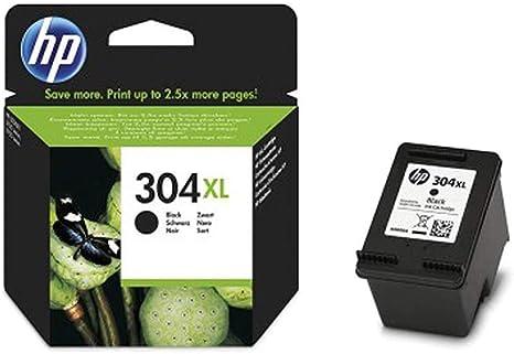 HP Pack de Ahorro de 2 Cartuchos de Tinta HP 304 XL Negro: Amazon.es: Informática