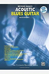 Beyond Basics: Acoustic Blues Guitar, Book & CD Paperback