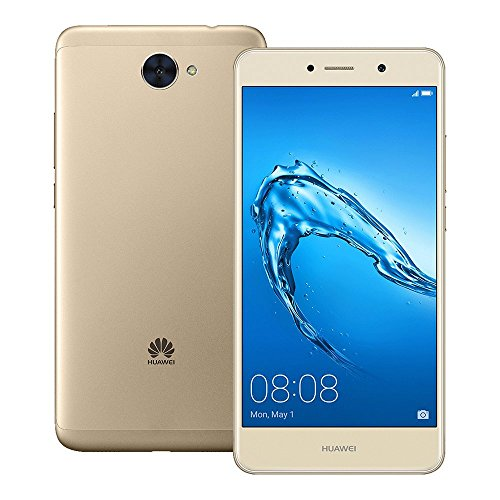 51Wd36uHxJL Huawei Y7 (TRT-LX3) 2GB / 16GB 5.5-inches Dual SIM Factory Unlocked - International Version - No Warranty (Prestige Gold).