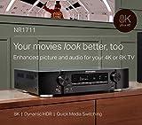 Marantz NR1711 8K Slim 7.2 Channel Ultra HD AV
