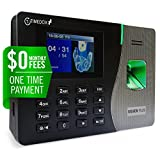 Silver Plus | $0 Monthly Fee | Fingerprint Proximity Time Clock For Employees | Download Data Automatically | Dynamic Reports | Requires Pro Suite Software (ONE-TIME Payment) | Lifetime Upgrade