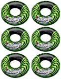 This 6-Pack of Intex River Rat Inflatable Tubes are a bold choice for floating down a river, having fun in your swimming pool, or for a day at the beach or lake. Stand out while you are floating at the lake, beach, pool, or river with this 6-...