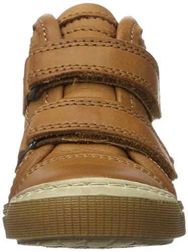 Bisgaard Unisex-Kinder Klettschuhe Hohe Sneaker Braun (500 Cognac)