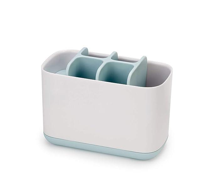 Joseph Joseph 70504 Easystore Badezimmer Caddy Plastik Weiss Blau