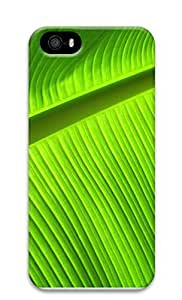 TYH - iPhone 5 5S Case Banana leaves desktop 3D Custom iPhone 5 5S Case Cover phone case