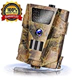 Best Cheap Trail Cameras - Trail Game Camera 14MP 1080P Waterproof Hunting Scouting Review