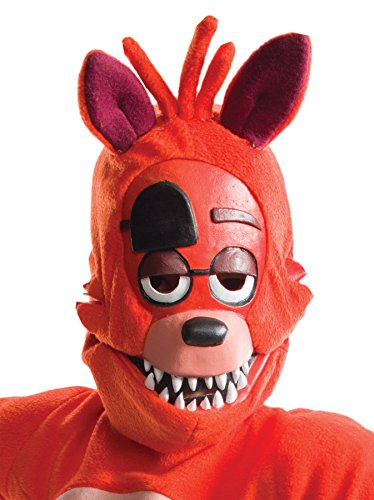5 Family Halloween Costumes Person (UHC Boy's Five Nights at Freddy's Foxy Child Mask Halloween Costume)