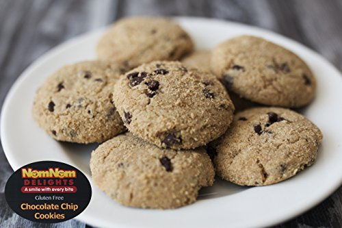 Gluten Free Chocolate Chip Cookies In Gift Tin | Best Gourmet Food Gift by NomNom Delights