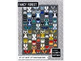 Elizabeth Hartman EHP023  Fancy Forest Quilt Pattern