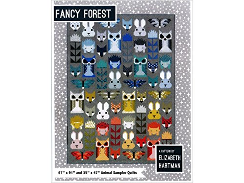 Elizabeth Hartman EH Fancy Forest Ptrn, Multi