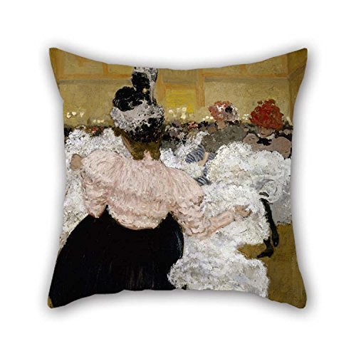 The Oil Painting Henri-Jacques-Edouard Evenepoel - At The Moulin Rouge Cushion Cases Of 16 X 16 Inches / 40 By 40 Cm Decoration Gift For Couch Lover Son Deck Chair ()