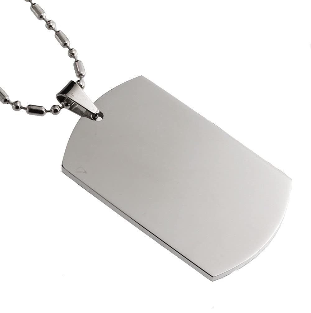 R.H Jewelry Stainless Steel Pendant for Son
