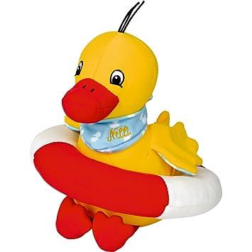 Spiegelburg 14817 Patito de Licra para Piscina Baño Agua Ente Nelli: Amazon.es: Juguetes y juegos