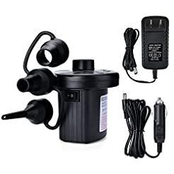 Electric Air Pump, AGPtEK Portable Quick...