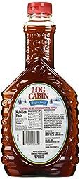 Log Cabin Sugar Free Syrup, 24 oz
