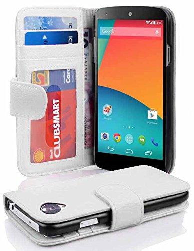 29 opinioni per Cadorabo- Custodia Book Style Design Portafoglio per LG NEXUS 5 con 3 Vani di
